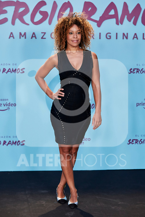 "Mary Ruiz attends to ""El Corazon De Sergio Ramos"" premiere at Reina Sofia Museum in Madrid, Spain. September 10, 2019. (ALTERPHOTOS/A. Perez Meca)"