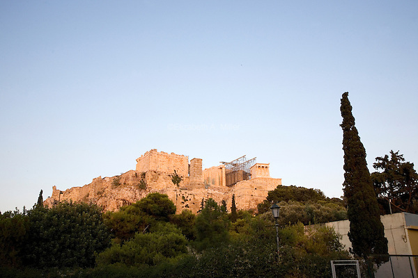 The Acropolis in Athens, Greece on July 2, 2013.