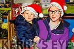 Sean and Leanne Ní Sé from Dingle shopping in Garveys Supervalu Dingle on Thursday.