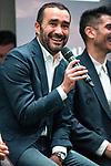 Juanma Castaño during the presentation of the strategic alliance between Movistar and Laliga<br /> October 4, 2019. <br /> (ALTERPHOTOS/David Jar)