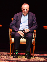 "FORT LAUDERDALE, FL - JUNE 12: Author James Patterson in a conversation about his new book with co-author former president Bill Clinton "" The President is Missing"" hosted by author Brad Meltzer at the Broward Center Au-Rene Theater on June 12, 2018 in Fort Lauderdale, Florida.  Credit: MPI10 / MediaPunch"