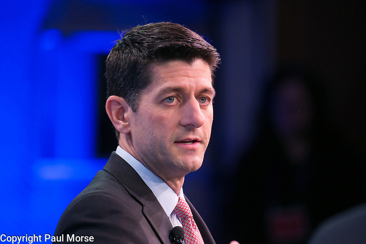 Wall Street Journal CEO Council on November 17, 2015.Speaker of the House Paul Ryan at the Wall Street Journal CEO Council on November 17, 2015.