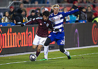 21 November 2010:  Colorado Rapids defender Kosuke Kimura #27 and FC Dallas defender/midfielder Brek Shea #20 in action during the 2010 MLS Cup Final between the Colorado Rapids and FC Dallas at BMO Field in Toronto, Ontario Canada...