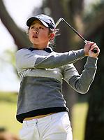 Vivian Lu during her final match v Kum Kang Park. New Zealand Amateur Championship, Wairakei Golf Course and Sanctuary, Taupo, New Zealand, Sunday 4  November 2018. Photo: Simon Watts/www.bwmedia.co.nz