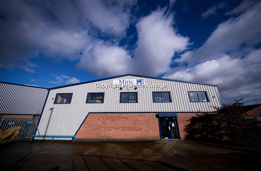 04/02/19<br /> <br /> ***Free Photo for Editorial Use***<br /> <br /> Miric Engineering, Hucknall, Nottinghamshire.<br /> <br /> All Rights Reserved, F Stop Press Ltd.  (0)7765 242650  www.fstoppress.com rod@fstoppress.com