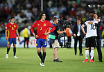 Spain's Hector Bellerin looks on dejected at the final whistle during the UEFA Under 21 Final at the Stadion Cracovia in Krakow. Picture date 30th June 2017. Picture credit should read: David Klein/Sportimage