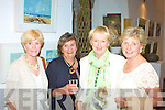 At the mid summer exhibition in the Old Oratory Cahersiveen were l-r; Lynne Connelly, Gine Keen, Mary Clifford & Mary Huggard.
