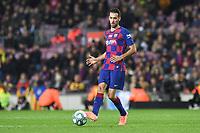 Sergio Busquets<br /> 07/12/2019 <br /> Barcelona - Maiorca<br /> Calcio La Liga 2019/2020 <br /> Photo Paco Largo Panoramic/insidefoto <br /> ITALY ONLY