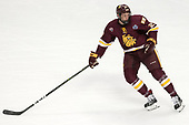 Riley Tufte (UMD - 27) - The University of Denver Pioneers defeated the University of Minnesota Duluth Bulldogs 3-2 to win the national championship on Saturday, April 8, 2017, at the United Center in Chicago, Illinois.