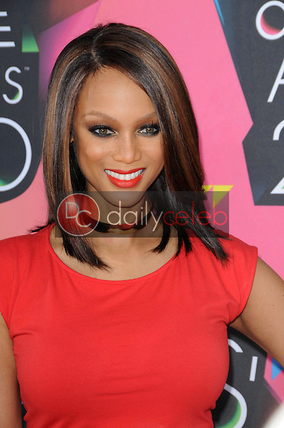Tyra Banks<br /> at the Nickelodeon's 23rd Annual Kids' Choice Awards, UCLA's Pauley Pavilion, Westwood, CA 03-27-10<br /> David Edwards/DailyCeleb.com 818-249-4998