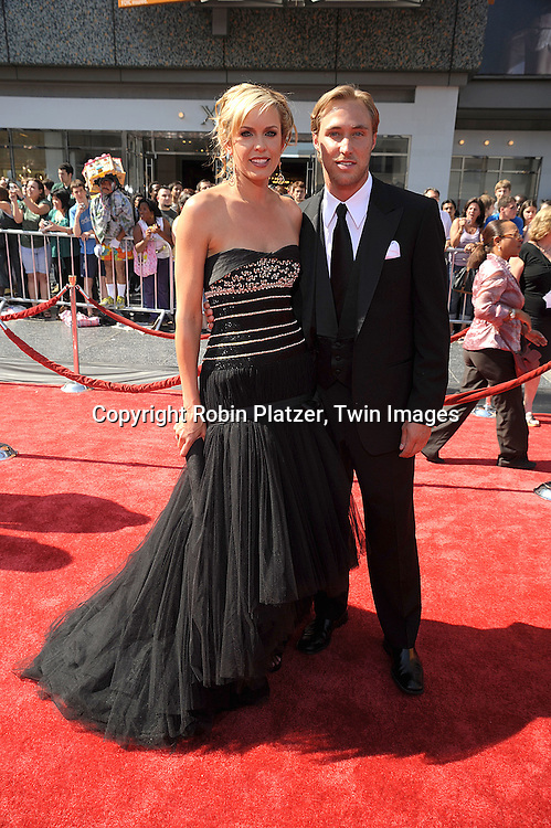 Arianne Zucker and husband Kyle Lowder....at The 35th Annual Daytime Entertainment Emmy Awards at The Kodak Theatre on June 20, 2008 in Hollywood California.....Robin Platzer, Twin Images