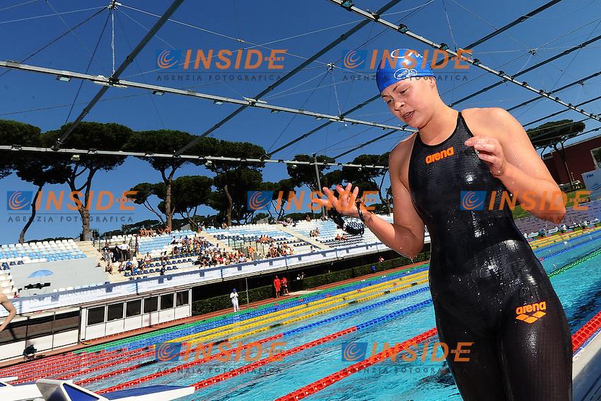 Femke Heemskerk Nederland <br /> Roma 13/6/2013 Piscina del Foro Italico <br /> Nuoto 50mo trofeo Settecolli<br /> Settecolli 50th International swimming trophy <br /> Foto Andrea Staccioli Insidefoto