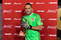East Rutherford, NJ - Friday June 17, 2016: MotM David Ospina after a Copa America Centenario quarterfinal match between Peru (PER) vs Colombia (COL) at MetLife Stadium.