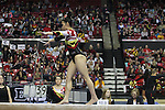 Feb 7, 2015; College Park, MD, USA; The Maryland Terrapins host Michigan Wolverines at the Xfinity Center on campus in College Park, MD. Mandatory Credit: Brian Schneider/www.ebrianschneider.com