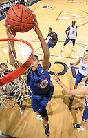 Tobias harris handles the ball during the 2009 NBPA Top 100 Basketball Camp held Friday June 17- 20, 2009 in Charlottesville, VA. Photo/ Andrew Shurtleff