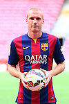 2014-07-24-Jeremy Mathieu new player of FC Barcelona.