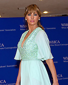 Melania Trump arrives for the 2015 White House Correspondents Association Annual Dinner at the Washington Hilton Hotel on Saturday, April 25, 2015.<br /> Credit: Ron Sachs / CNP