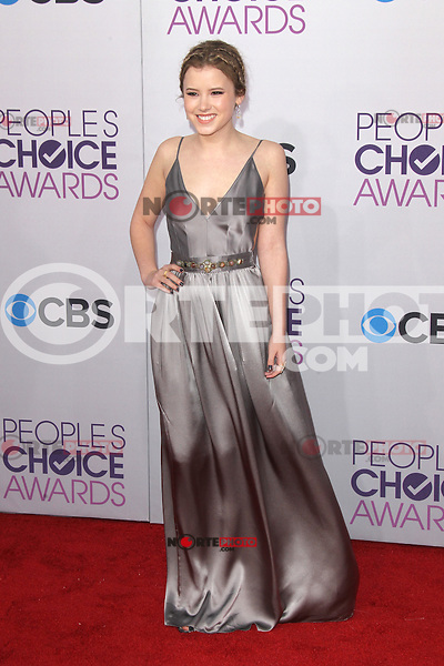 LOS ANGELES, CA - JANUARY 09: Taylor Spreitler at the 39th Annual People's Choice Awards at Nokia Theatre L.A. Live on January 9, 2013 in Los Angeles, California. Credit: mpi21/MediaPunch Inc. /NORTEPHOTO