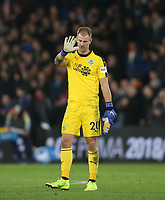 Burnley's Joe Hart acknowledges the fans at the end of the game<br /> <br /> Photographer Rob Newell/CameraSport<br /> <br /> The Premier League - Saturday 1st December 2018 - Crystal Palace v Burnley - Selhurst Park - London<br /> <br /> World Copyright &copy; 2018 CameraSport. All rights reserved. 43 Linden Ave. Countesthorpe. Leicester. England. LE8 5PG - Tel: +44 (0) 116 277 4147 - admin@camerasport.com - www.camerasport.com