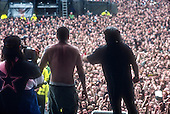 Pantera; 1994 Donnington Festval; June 4, 1994; <br /> Donington Park, Castle Donington, UK<br /> Photo Credit: Eddie Malluk/AtlasIcons