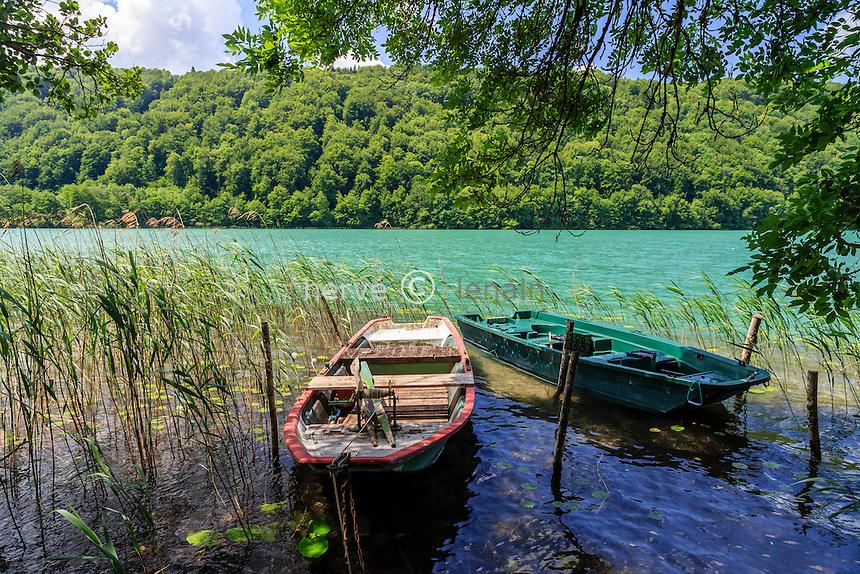 France, Jura (39), Menétrux-en-Joux, lac du Val // France, Jura, Menetrux en Joux, Val lake