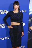 "HOLLYWOOD, LOS ANGELES, CA, USA - AUGUST 07: Hannah Simone at the Los Angeles Premiere Of 20th Century Fox's ""Let's Be Cops"" held at ArcLight Cinemas Cinerama Dome on August 7, 2014 in Hollywood, Los Angeles, California, United States. (Photo by Xavier Collin/Celebrity Monitor)"