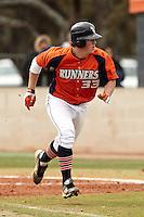 SAN ANTONIO, TX - FEBRUARY 26, 2012: The University of New Mexico Lobos at The University of Texas at San Antonio Roadrunners Baseball at Roadrunner Field. (Photo by Jeff Huehn)