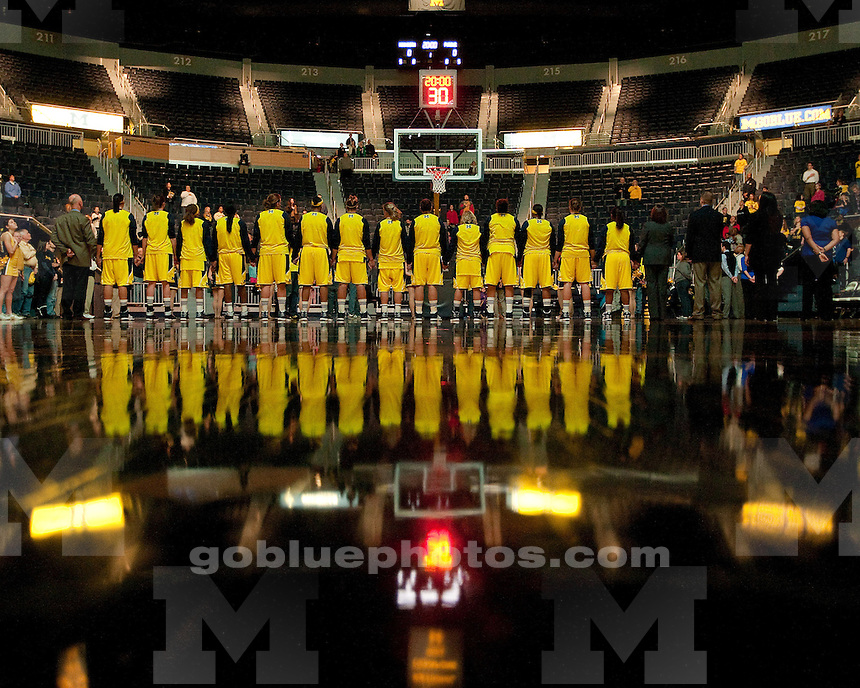 The University of Michigan women's basketball team lost to No. 22 Purdue, 60-49, at Crisler Center in Ann Arbor, Mich., on February 23, 2012.