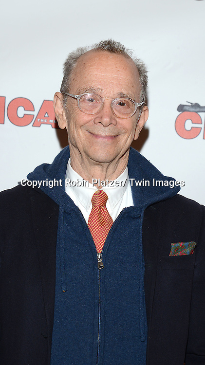 """Joel Grey attends """"Chicago""""  becoming the 2nd Longest Running Show on Broadway at performance 7486 on November 23, 2014 at the Ambassodor Theatre in New York City."""