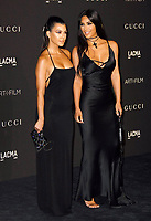 Kourtney Kardashian, Kim Kardashian West attends 2018 LACMA Art + Film Gala at LACMA on November 3, 2018 in Los Angeles, California. <br /> CAP/MPI/SPA<br /> &copy;SPA/MPI/Capital Pictures