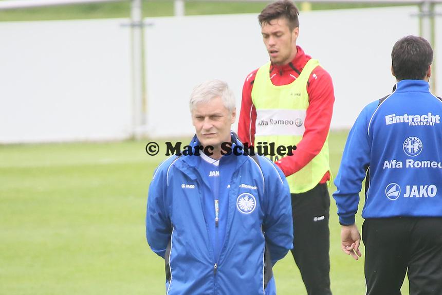 Trainer Armin Veh (EIntracht) - Eintracht Frankfurt vs. Training, Commerzbank Arena