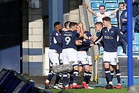 George Saville celebrates scoring Millwall's opening goal during Millwall vs Brentford, Sky Bet EFL Championship Football at The Den on 10th March 2018