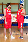 Pau Gasol and Marc Gasol players of The Spanish Basketball Team