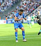 10.09.2017, OLympiastadion, Berlin, GER, 1.FBL, Hertha BSC VS. SV Werder Bremen, im Bild <br /> Vedad Ibisevic (Hertha BSC Berlin #19)<br /> <br /> <br />       <br /> Foto &copy; nordphoto / Engler