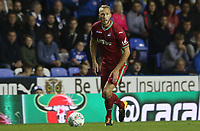Mike van der Hoorn of Swansea City during the Carabao Cup Third Round match between Reading and Swansea City at Madejski Stadium, Reading, England, UK. Tuesday 19 September 2017