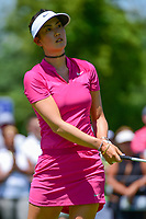 Michelle Wie (USA) watches her tee shot on 2 during Saturday's round 3 of the 2017 KPMG Women's PGA Championship, at Olympia Fields Country Club, Olympia Fields, Illinois. 7/1/2017.<br /> Picture: Golffile | Ken Murray<br /> <br /> <br /> All photo usage must carry mandatory copyright credit (&copy; Golffile | Ken Murray)