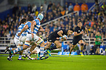 September 29, 2018. Jose Amalfitani, Buenos Aires, Argentina. Rieko Ioane attacking during the second half of the match.