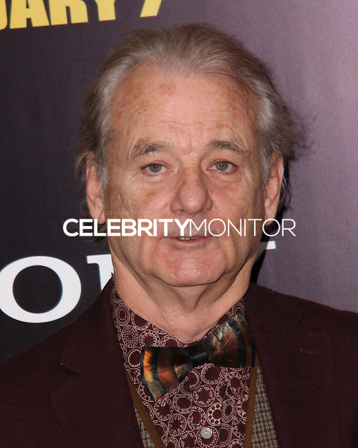 "NEW YORK, NY - FEBRUARY 04: Bill Murray at the New York Premiere Of Columbia Pictures' ""The Monuments Men"" held at Ziegfeld Theater on February 4, 2014 in New York City, New York. (Photo by Jeffery Duran/Celebrity Monitor)"