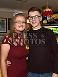 Caoimhe Connor celebrating her 18th birthday with boyfriend David Andrews in the Railway Arms. Photo:Colin Bell/pressphotos.ie