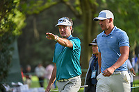 Brooks Koepka (USA) chats with Bubba Watson (USA) as they head to 16 during round 2 of the World Golf Championships, Mexico, Club De Golf Chapultepec, Mexico City, Mexico. 2/22/2019.<br /> Picture: Golffile | Ken Murray<br /> <br /> <br /> All photo usage must carry mandatory copyright credit (&copy; Golffile | Ken Murray)