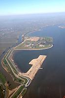 Deutschland, Hamburg, Nierdersachsen, Ausgleichsflaeche, Muehlenberger Loch, Hahnoefersand, Elbe, Deichbau