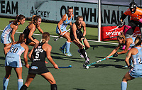 Maddie Doar. Pro League Hockey, Vantage Blacksticks Women v Argentina. North Harbour Hockey Stadium, Auckland, New Zealand. Sunday 10 March 2019. Photo: Simon Watts/Hockey NZ