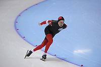 SCHAATSEN: HEERENVEEN: Thialf, 4th Masters International Speed Skating Sprint Games, 25-02-2012, Brett Arnason (M60) 3rd, ©foto: Martin de Jong