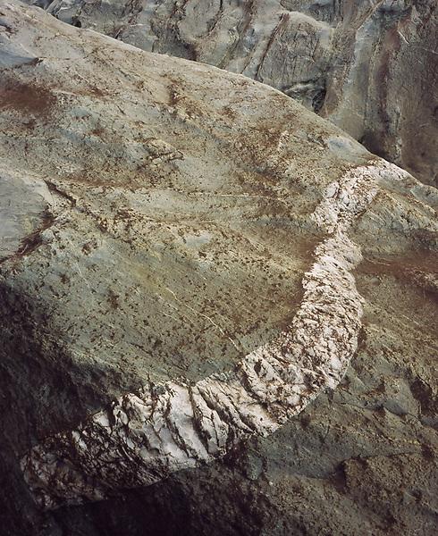 Calcite Vein, <br /> River Boulders.<br /> Barron River,<br /> FNQ