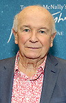 """Terrence McNally during the """"Frankie And Johnny In The Clair De Lune"""" Company Meet The Press  at the the New 42nd Street Studios on April 18, 2019 in New York City."""