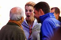 Athina Onassis et son mari Alvaro de Miranda <br /> Parigi 05-12-2013 Gucci Masters Equitazione <br /> Celebrities Event <br /> Foto Gwendoline Le Goff Panoramic / Insidefoto