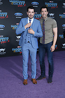 19 April 2017 - Hollywood, California - Jonathan Scott, Drew Scott. Premiere Of Disney And Marvel's &quot;Guardians Of The Galaxy Vol. 2&quot; held at Dolby Theatre. <br /> CAP/ADM/PMA<br /> &copy;PMA/ADM/Capital Pictures