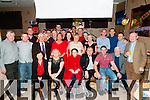 50th Birthday : Eamonn O'Hanlon, Tarbert, third from right seated, celebrating his 50th birthday with family & friends at the Swanky Bar, Tarbert on Sayurday night last.