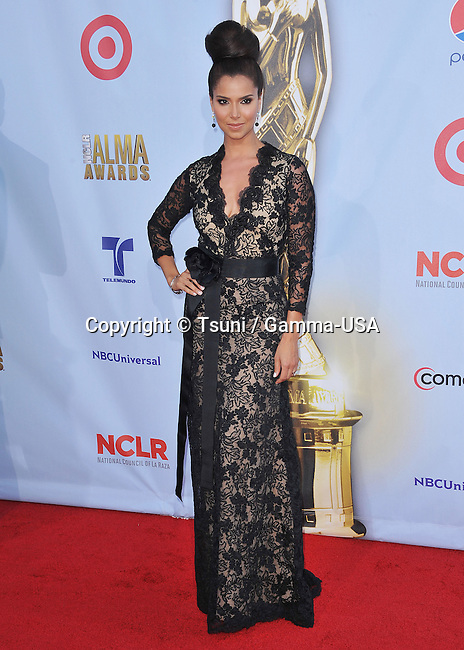 Rosalyn Sanchez  at the 2012 NCLR ALMA Awards at the Pasadena Auditorium in Pasadena.