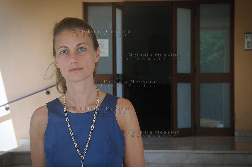 Palermo, centro studi dei gesuiti &quot;Istituto Arrupe&quot;: la direttrice Nicoletta Purpura <br /> Palermo, institute of Political Education of the Jesuits &quot;Pedro Arrupe&rdquo; Nicoletta Purpura the director